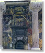 The Old Church - Biserica Veche  Metal Print