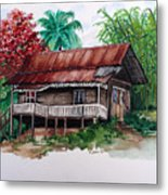 The Old Cocoa House  Metal Print
