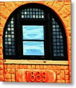 The Old Depot 1889 Metal Print