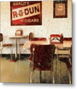 The Old Diner Metal Print
