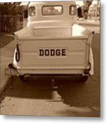 The Old Dodge Metal Print