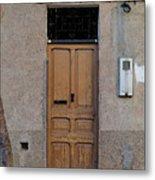 The Old Door. Metal Print
