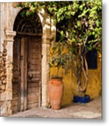 The Old Entrance Metal Print