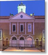 The Old Exchange And Provost Dungeon At Twilight Charleston South Carolina Metal Print