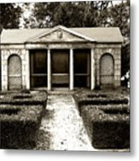 The Old Garden House Metal Print
