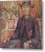 The Old Gardener 1921 Metal Print