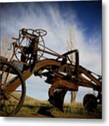 The Old Grader Metal Print