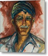 The Old Greek Man Metal Print