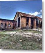 The Old Haunted Barn Metal Print