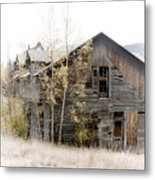 The Old Home Metal Print