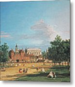 The Old Horse Guards Metal Print