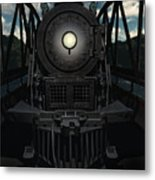 The Old Iron Bridge Metal Print