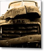 The Old Jalopy . 7d8396 Metal Print
