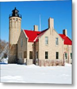 The Old Mackinac Point Lighthouse Metal Print