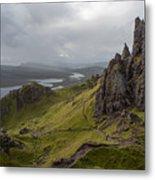 The Old Man Of Storr, Isle Of Skye, Uk Metal Print