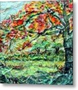 The Old Maple Tree Metal Print