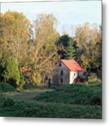 The Old Mill At Guilford II Metal Print
