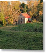 The Old Mill At Guilford Metal Print