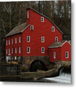 The Old Mill In Clinton Nj Metal Print