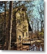 The Old Mill In The Countryside Metal Print