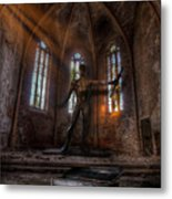 The Old Party Tune. Metal Print