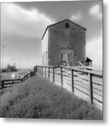 The Old Pump House Metal Print