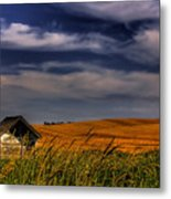 The Old Pumphouse Metal Print by David Patterson