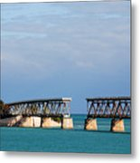 The Old Railroad To The Keys Metal Print