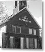 The Old Ridgway Firehouse Metal Print