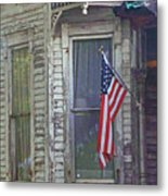 The Old Soldier's Gone Metal Print