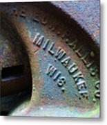The Old Stamp Mill- Findley Mine Metal Print