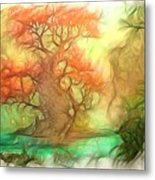 The Old Tree Of The Forest Metal Print