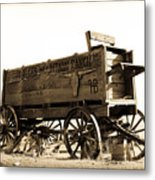 The Old Wagon Metal Print