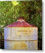 The Old Water Tank Metal Print