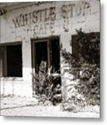 The Old Whistle Stop Cafe Metal Print