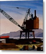 The Oldcrane Metal Print