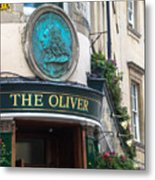 The Oliver Pub Metal Print