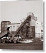 The Olyphant Pennsylvania Coal Breaker 1971 Metal Print