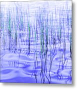 The Ongoing Reeds Experiment Metal Print