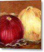 The Onions Metal Print