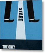 The Only True Failure Is Giving Upcorporate Start-up Quotes Poster Metal Print