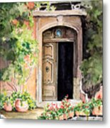 The Open Door Metal Print