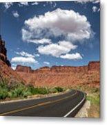 The Open Road - Utah Metal Print