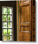 The Open Window Metal Print