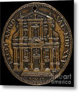 The Opening For Worship Of The Chiesa Del Gesu, Rome [reverse] Metal Print