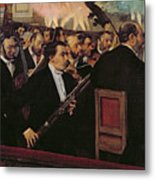 The Opera Orchestra Metal Print