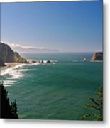 The Oregon Coast Metal Print