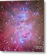 The Orion Nebula Region Metal Print