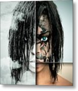 The Other Half Of Me Metal Print