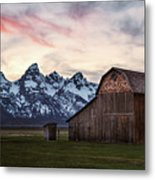 The Other Moulton Barn Metal Print